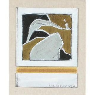 """Shasta Landscape"" Gouache by Rob Delamater"