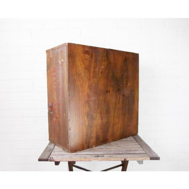Vintage 1950s Wooden Pie Storage Crate Box - Image 5 of 6