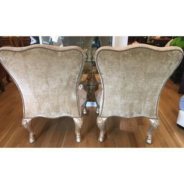 Therien Studios Baroque Arm Chairs- A Pair - Image 4 of 5