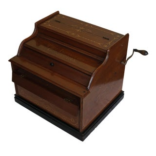 Mechanical Wooden Music Box