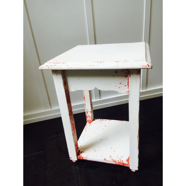 Shabby Chic Side Table - Image 4 of 6