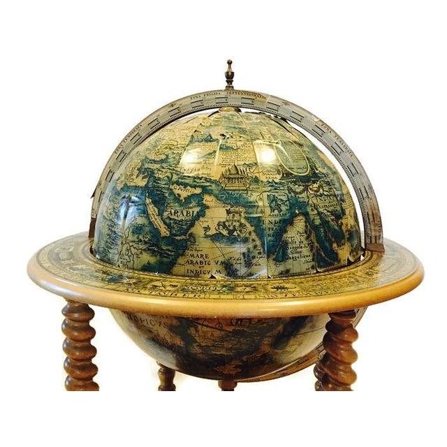 Mid-Century World Globe Bar Cart - Image 6 of 10