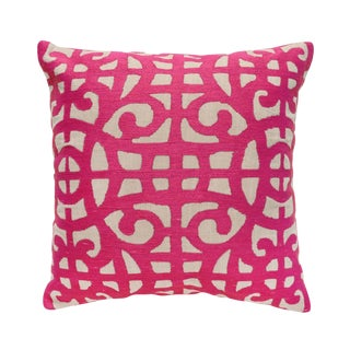 Fuchsia Down Pillow
