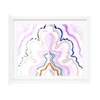 "Kristi Kohut ""Violet Agate"" Fine Art Print"