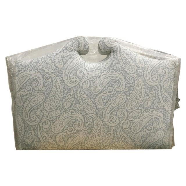 Robert Allen Upholstered Full Size Headboard - Image 1 of 4