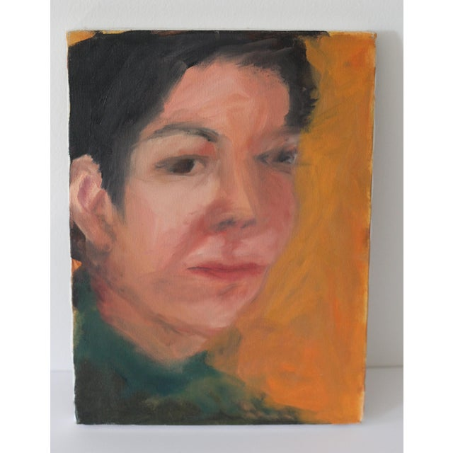 Image of Portrait of a Woman Painting by Janet Mamon