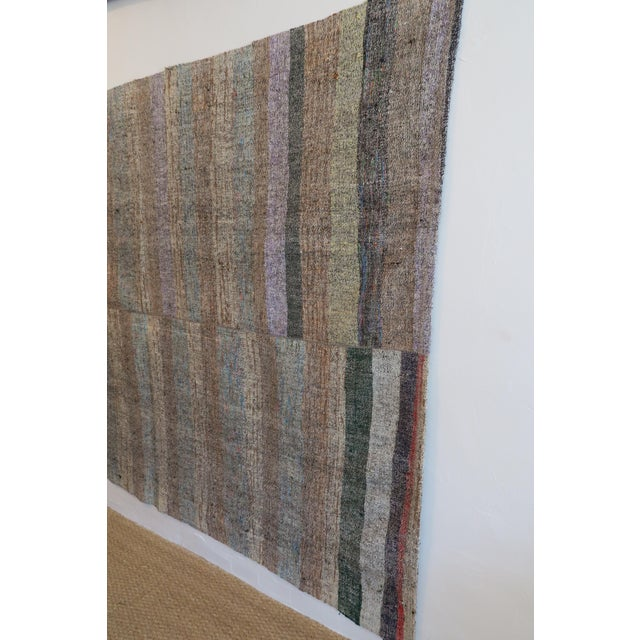 "Vintage Turkish Pala Kilim Rug - 70"" x 93"" - Image 2 of 5"