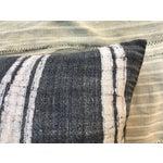 Image of Vintage Tribal Batik Linen Pillow