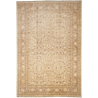 Hand-Knotted Palatial Pakistani Rug - 12'x 17""
