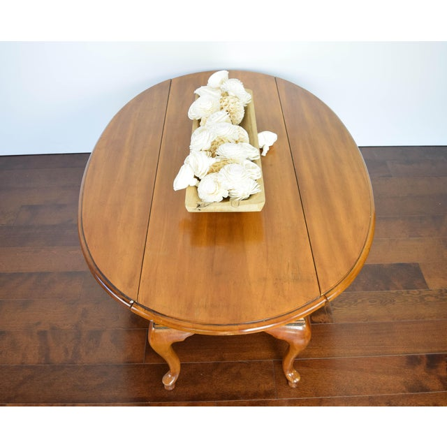 Queen Anne Oval Coffee Table - Image 3 of 11