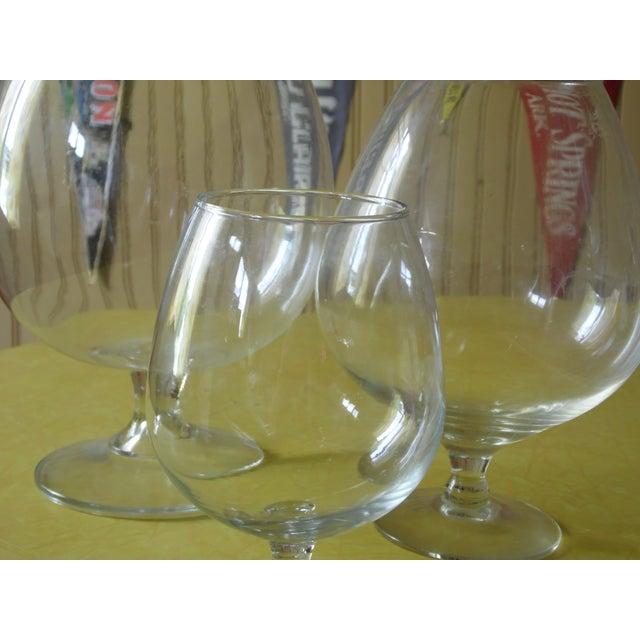 Pedestal Glass Vases - Set of 3 - Image 4 of 5