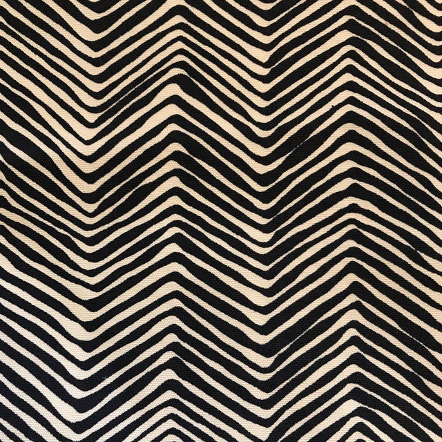 Quadrille Alan Campbell Petite Zig Zag Fabric - 2 2/3 Yards - Image 1 of 4