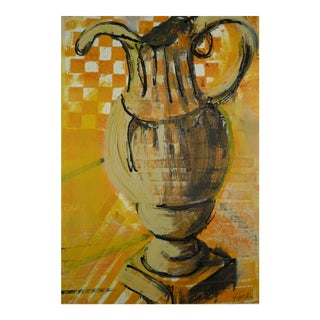 Martha Holden Yellow Pitcher Painting