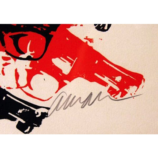 "Image of Arman, ""Bloody Guns,"" Serigraph"