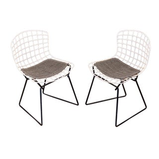 Pair of Baby Bertoia Chairs