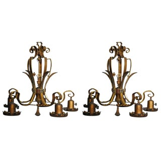 American Light Fixtures - A Pair