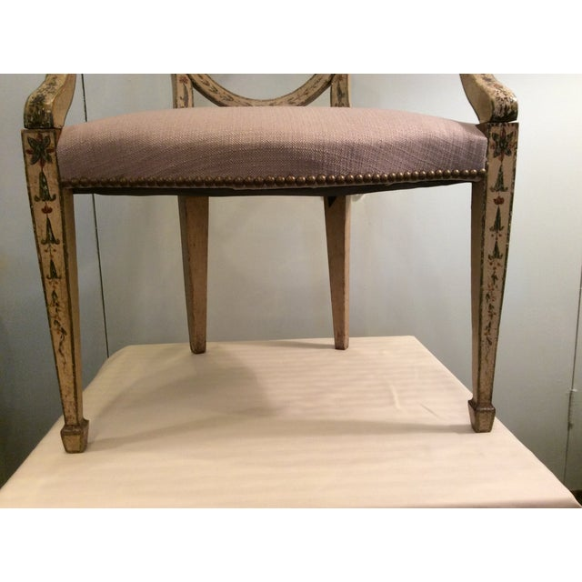 Fine Hepplewhite Open Chair-Late 18th Century - Image 7 of 8