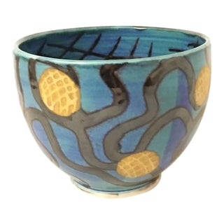 Smith 1986 Studio Ceramic Handpainted Bowl