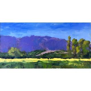 'Sunflower Farm, Woodland' Painting