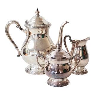 Silverplate Tea Set - Set of 3