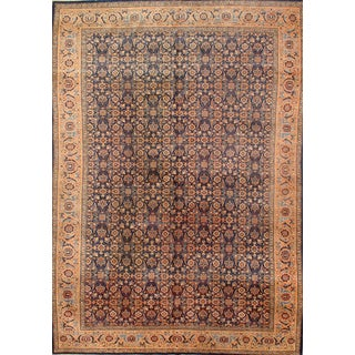 Pasargad N Y Antique Persian Tabriz Rug - 7′10″ × 11′4″