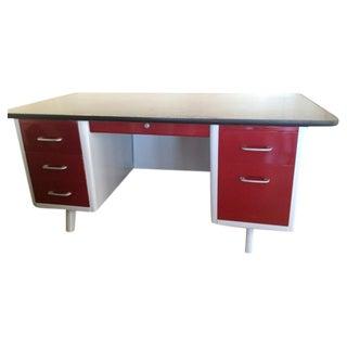 """Retro Office 69"""" Arch Leg Desk"""