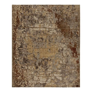 Earth Elements Collection Ivory Rust Carpet