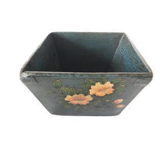 Antique Chinese Peach Blossom Rice Bowl