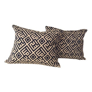 Geometric Bolsters Pillows - A Pair