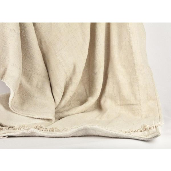 Nude Mud Cloth Throw Blanket - Image 5 of 6