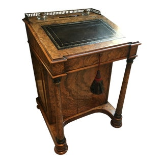 Antique English Traditional Davenport Writing Desk