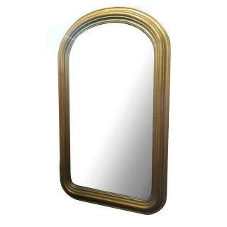 Gilded Arched Mirror