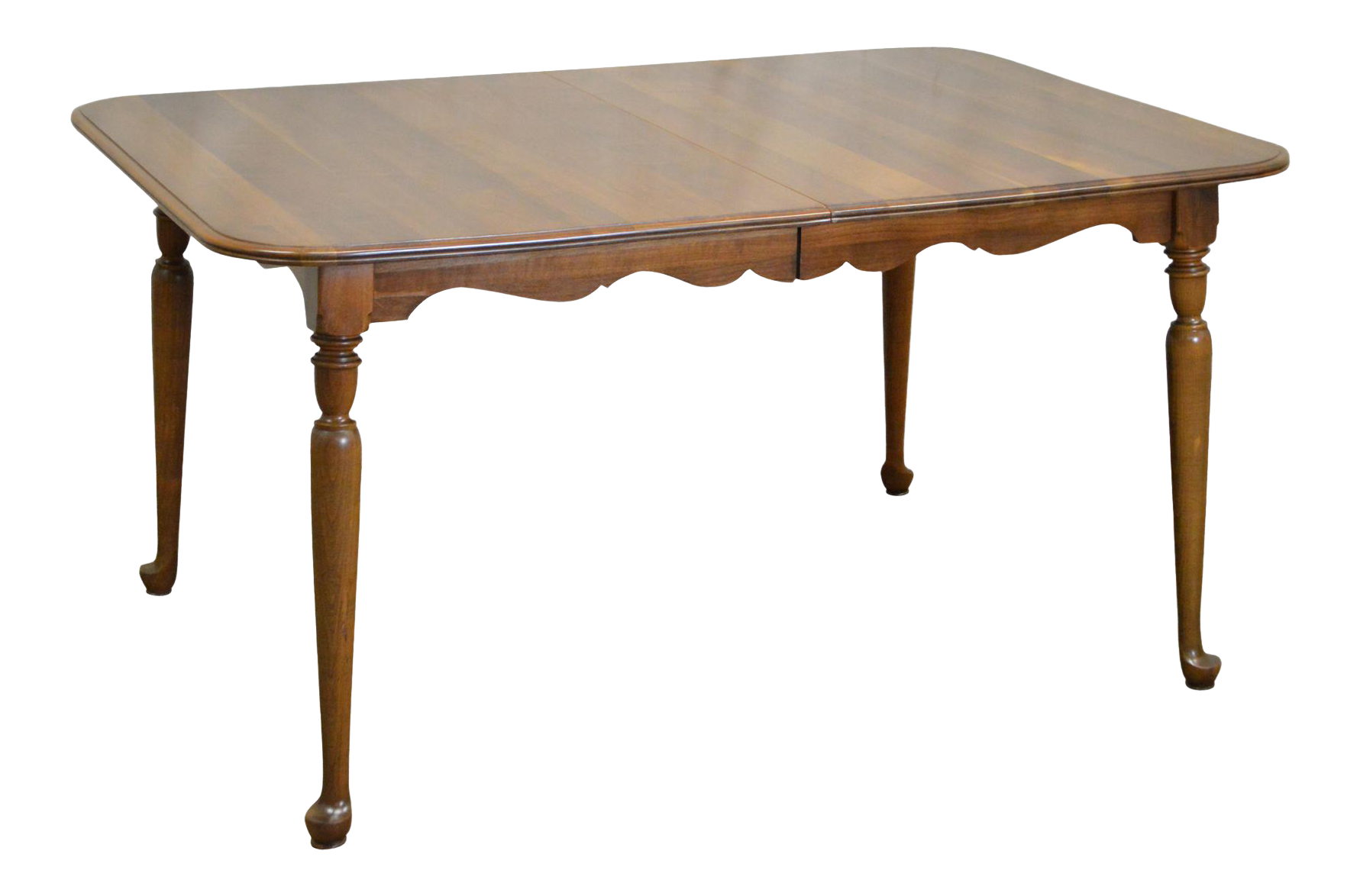 Nice Ethan Allen Sheffield Solid Cherry Traditional Expandable Dining Table