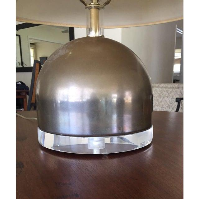 Mid-Century Squat Table Lamp - Image 5 of 6