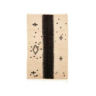 Beni Ourain Handwoven Rug - 5′10″ × 9′6″