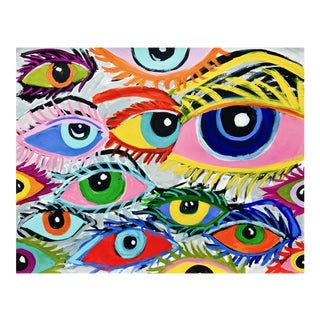 """Eyes"" Abstract Original Painting"