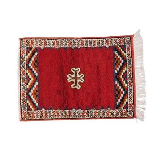 Small Moroccan Berber Rug- 2′4″ × 3′4″
