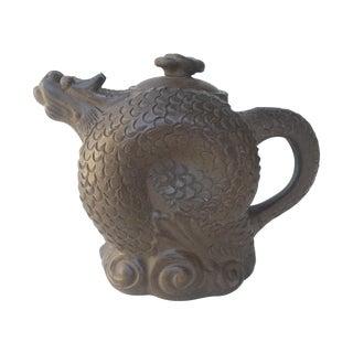 Curled Dragon Yixing Clay Teapot