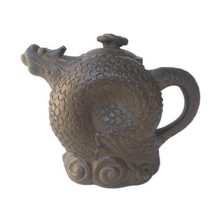 Curled Dragon Yixing Clay Teapot