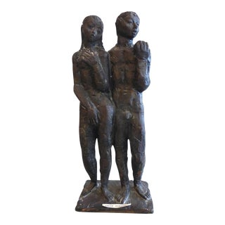 Man and Woman Sculpture by Dodson