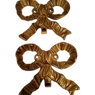 Vintage Brass Bows - Set of 4