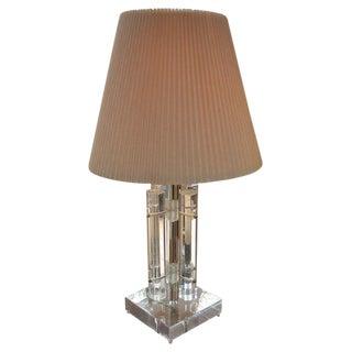 1970s Lucite Lamp