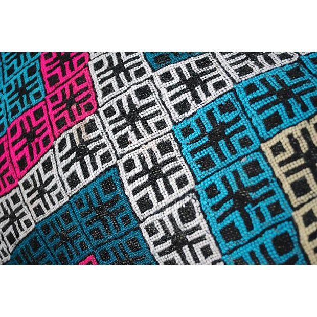 Multicolor Berber Pillow - Image 3 of 4