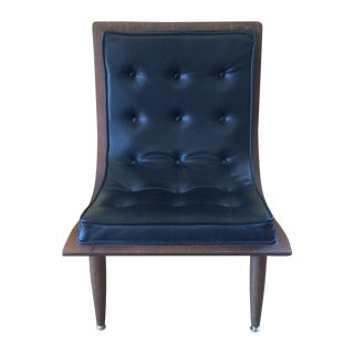 Mid-Century Carter Brothers Scoop Chair