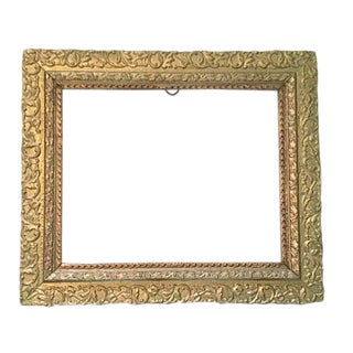 Giltwood and Gesso Aesthetic Era Frame
