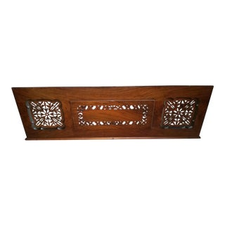 Steinway Piano Fretwork Desk Wall Hanging