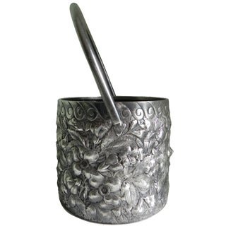 Victorian Barbour Silver Co. Swivel Basket