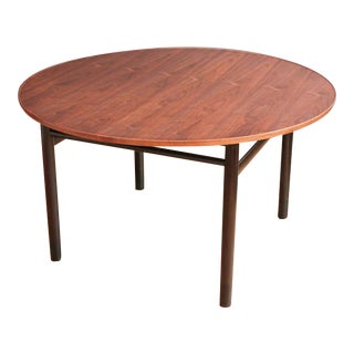Walnut Dining Table by Edward Wormley for Dunbar