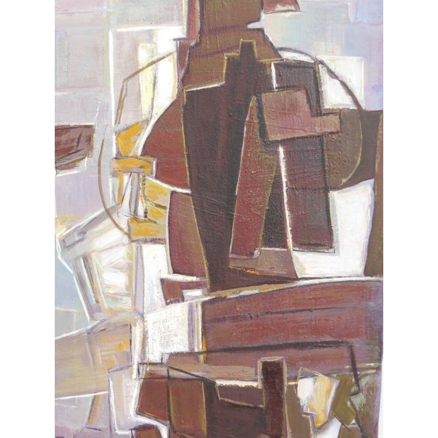 Mario De Ferrante Abstract Oil On Canvas Painting - Image 6 of 9