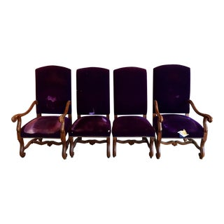 Ralph Lauren Henredon High Back Dining Chairs- Set of 4
